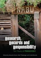 Research  Records and Responsibility PDF