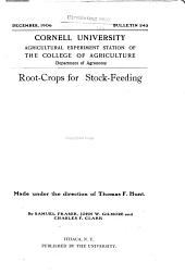 Root-crops for Stock-feeding