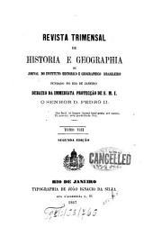 Revista do Instituto Histórico e Geográfico Brasileiro: Volume 8