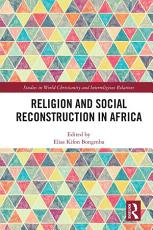 Religion and Social Reconstruction in Africa PDF