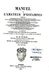 Manuel de l'amateur d'estampes...