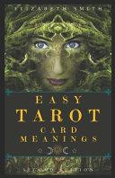 Easy Tarot Card Meanings