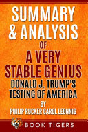 Summary and Analysis of