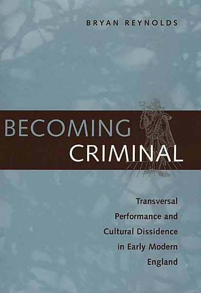 Download Becoming Criminal Book