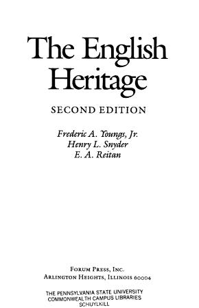 The English Heritage PDF