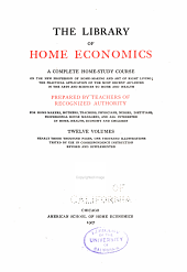 The Library of Home Economics: Principles of cookery