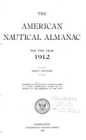 The American nautical almanac: Volume 1912
