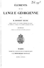 Éléments de la langue géorgienne