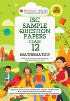 Oswaal ISC Sample Question Papers Class 12 Mathematics  For 2020 Exam  PDF