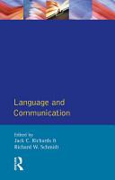 Language and Communication PDF