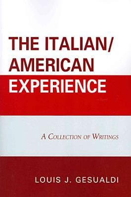 The Italian American Experience PDF