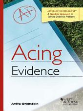 Acing Evidence 1E