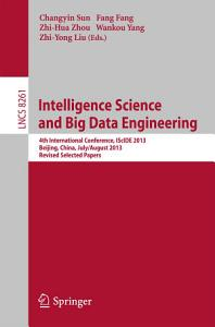 Intelligence Science and Big Data Engineering Book