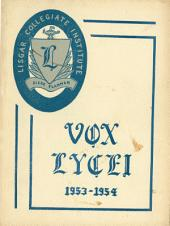 Vox Lycei 1953-1954