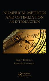 Numerical Methods and Optimization: An Introduction