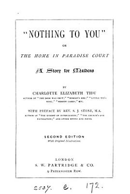 Nothing to you   or  The home in Paradise court PDF