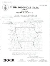 Climatological Data: Iowa, Volume 99, Issue 6