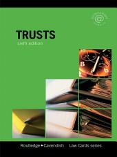 Trusts Lawcards 6/e: Sixth Edition, Edition 6