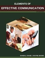 Elements of Effective Communication PDF