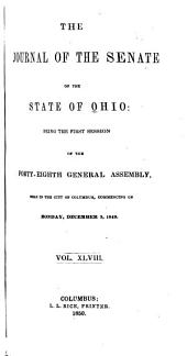 Journal of the Senate of the State of Ohio: Volume 48