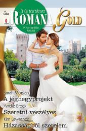 Romana Gold 17. kötet: A jéghegy projekt, Szeretni veszélyes, Házasságból szerelem