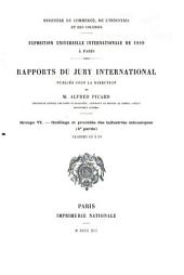 Rapports du Jury international: Volume 6,Partie 4