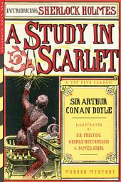 A Study in Scarlet (Illustrated)