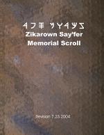 Zikarown Say'fer