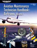 Aviation Maintenance Technician Handbook  Airframe  Volume 1 PDF