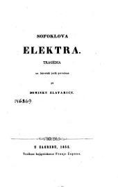 Sofoklova Elektra: tragedia