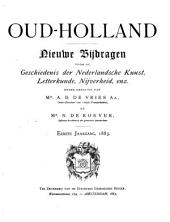 Oud Holland: Volumes 1-2