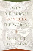 Why Did Europe Conquer the World  PDF
