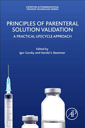 Principles of Parenteral Solution Validation PDF