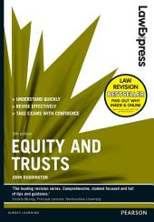 Law Express: Equity and Trusts 5th edn: Edition 5