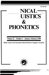 Clinical Linguistics Phonetics Book PDF