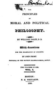 Questions for the Examination of Students in Paley's Moral and Political Philosophy