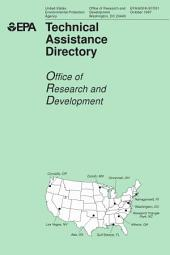 Technical assistance directoryOffice of Research and Development