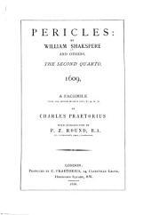 Shakespeare-quarto Facsimiles: Pericles ... 1. quarto