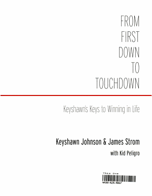 From First Down to Touchdown PDF