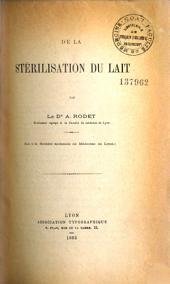 La Stérilisation du Lait
