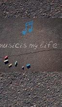 Music is My Life Creative Blank Journal