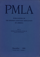 PMLA Publications of The modern Language Association of America PDF