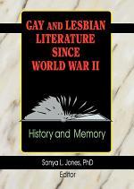Gay and Lesbian Literature Since World War II