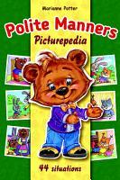 Polite Manners Picturepedia PDF
