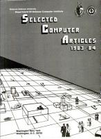 Selected Computer Articles PDF