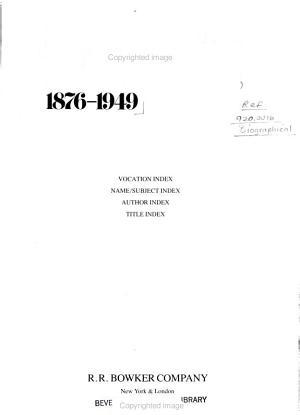 Biographical Books PDF