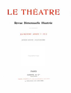 Le Theatre PDF