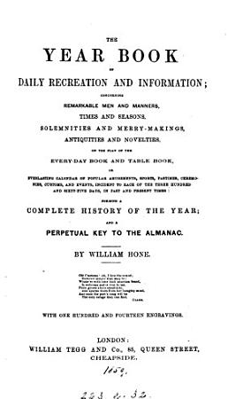 The year book of daily recreation and information PDF