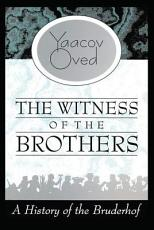 The Witness of the Brothers PDF