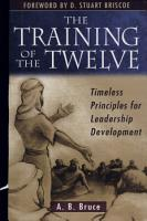 The Training of the Twelve PDF